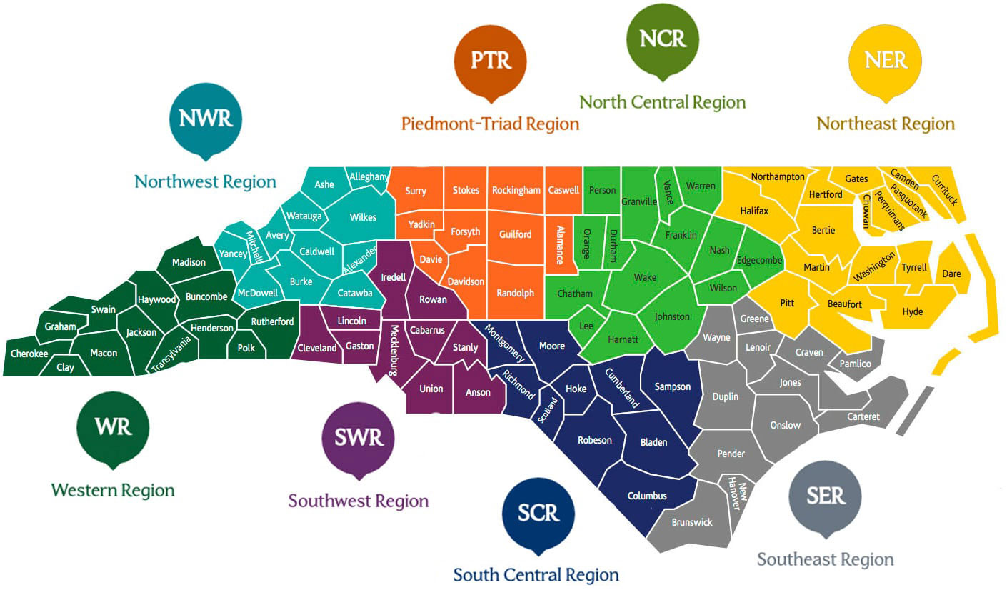 North Carolina Prosperity Zones