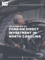Report: Foreign Direct Investment in North Carolina