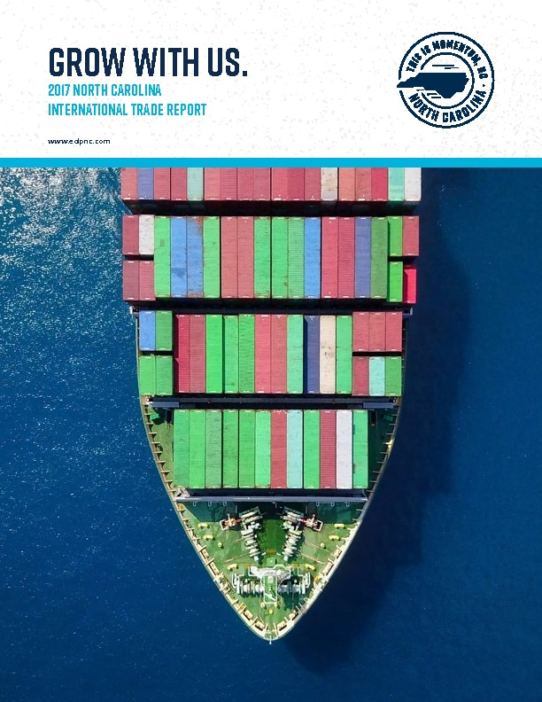 2017 North Carolina International Trade Report