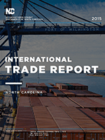 2015 North Carolina International Trade Report