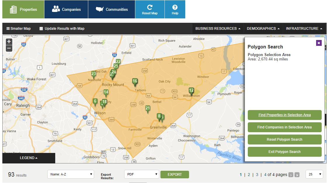 New Online Tool Helps Companies Find Industrial Sites in North Carolina
