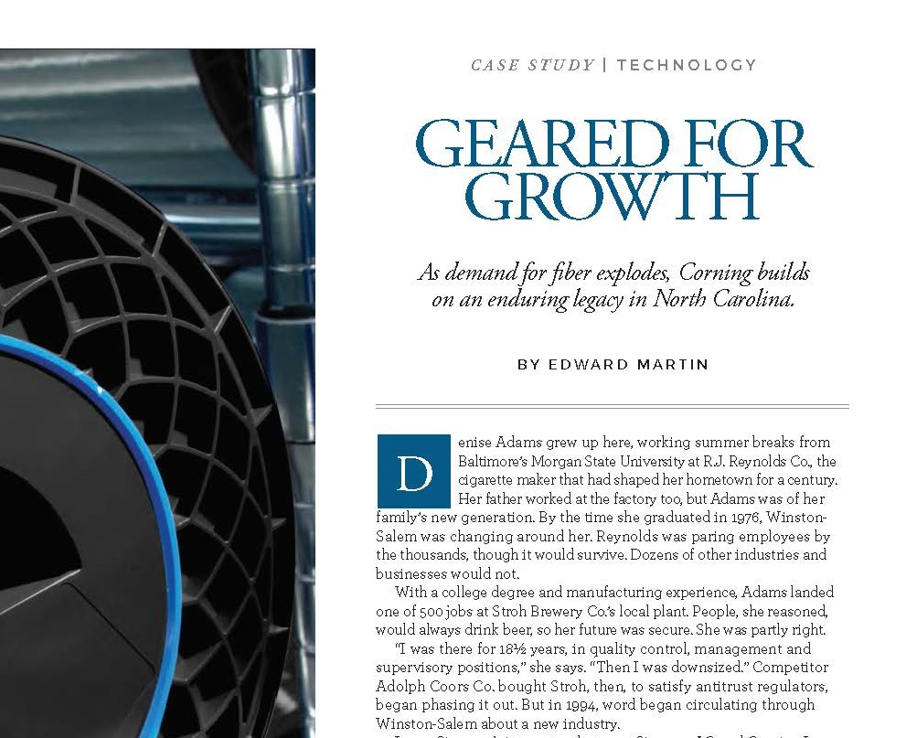 Case Study: Why Corning Is Growing in North Carolina