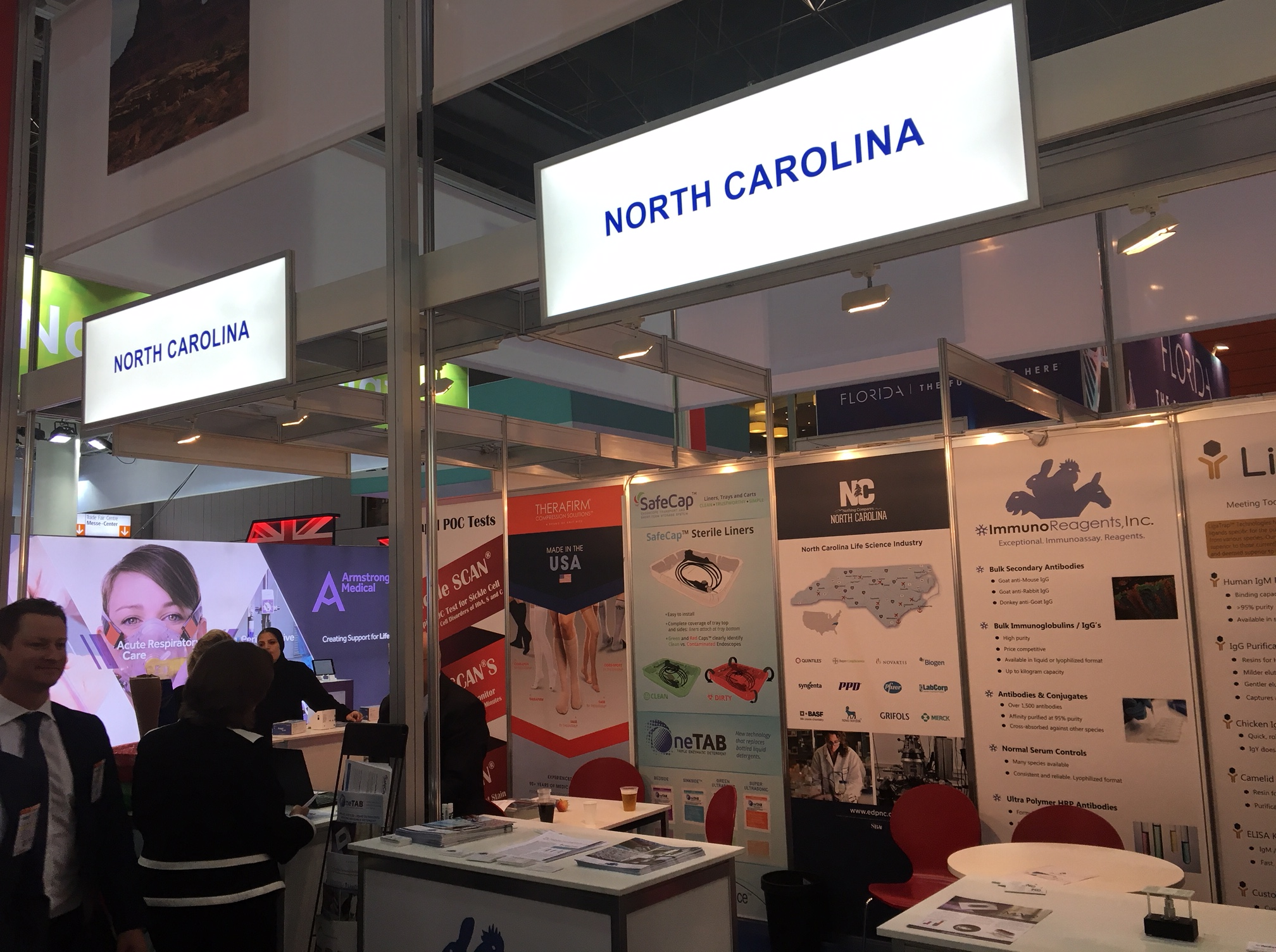 A Chance to Meet Locally with N.C.'s Foreign Trade Representatives