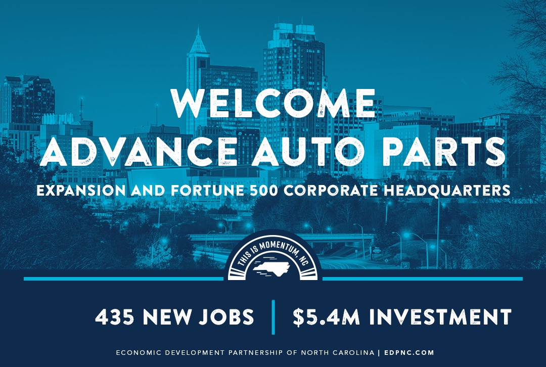 Advance Auto Parts Relocation And Expansion Adding 435 Jobs