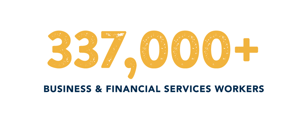 Business & Financial Services Industry in North Carolina