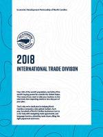 2018 North Carolina International Trade Report