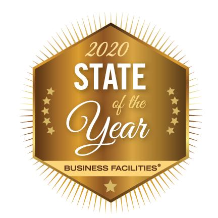 Magazine Ranks North Carolina 2020 State of the Year