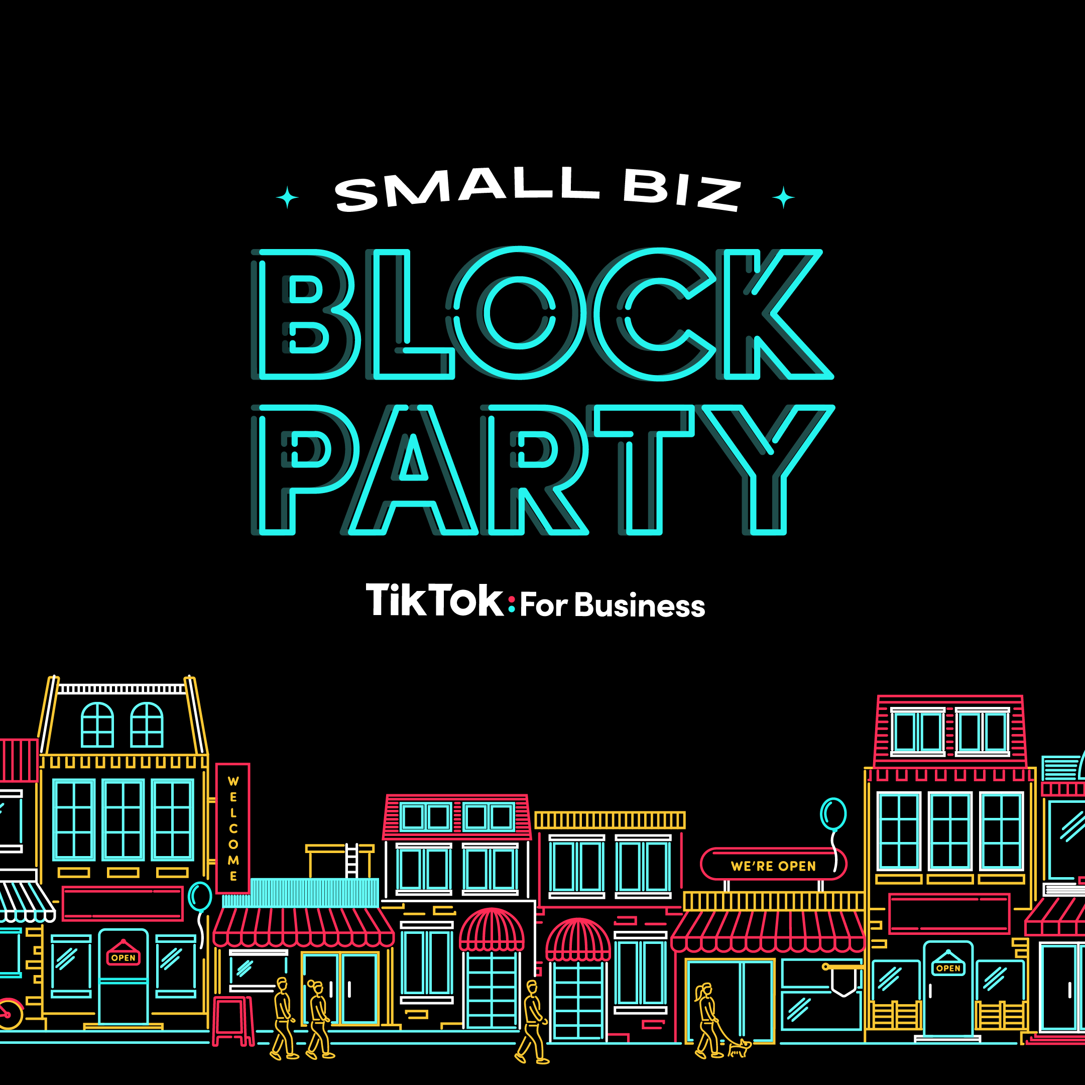 TikTok Small Biz Block Party